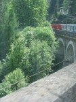 Train Along European Countryside